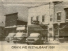 Grayling Restaurant Outside 1939